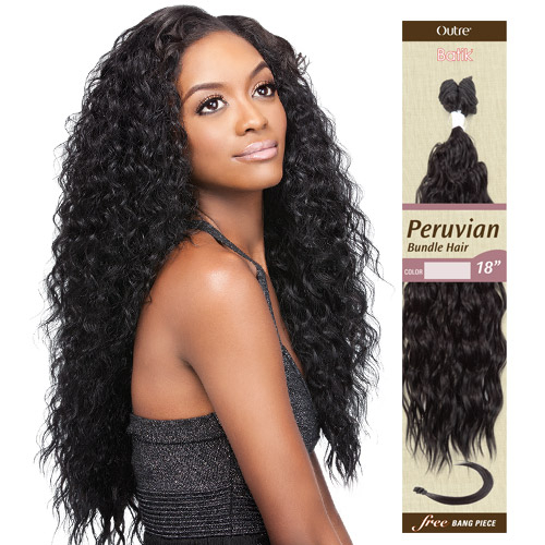 Outre synthetic hair weave batik peruvian bundle hair samsbeauty hair color show 1b pmusecretfo Images