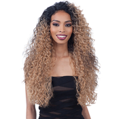 FreeTress Equal Synthetic Hair Lace Front Wig LaceAMP;Lace 6 Lace Part Wig Major