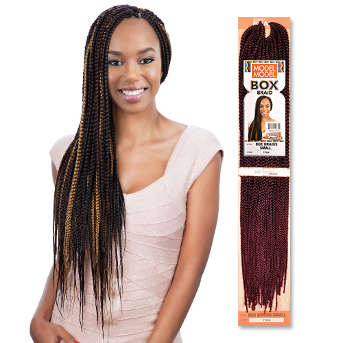 ... Synthetic Hair Crochet Braids Glance Box Braids Small - SamsBeauty