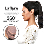 LaFlare Unprocessed Brazilian Virgin Remy Human Hair Lace Wig 360 Lace Frontal Wig Body
