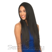 New Born Free Human Hair Blend Lace Front Wig 4X4 XL Magic Lace UShape Lace Wig MLUH98