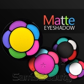 SANTEE Madly Matte 5 Colors Eyeshadow