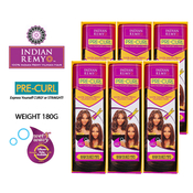 Janet Collection Indian Remy Human Hair Weave WetAMP;Wavy Indi Remy Cool Breeze 12 3Pcs