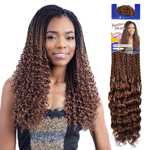 FreeTress Synthetic Hair Crochet Braids Pre Rod Senegalese - Crochet Braids Hairstyles For Kids