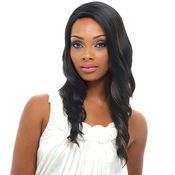 Janet Collection Synthetic Lace Front Wig Natural Super Flow Invisible Deep Part Lace Vivian