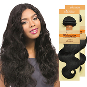 Sensationnel Unprocessed Malaysian Virgin Remy Human Hair Weave Bare AMP; Natural Body Wave