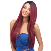 Outre Synthetic Hair Wig Quick Weave EcoWig Natural Yaki 24
