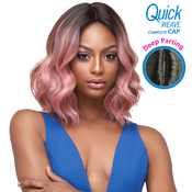 Outre Synthetic Hair Full Cap Quick Weave Complete Cap Deep Part Marie