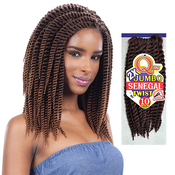 Milkyway Que Synthetic Hair Crochet Braids 2X Jumbo Senegal Twist 10