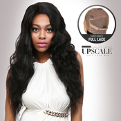 UpScale 100 Virgin Remi Human Hair Hand Made Full Lace Wig Body Wave 24