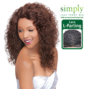 OUTRE Simply NonProcessed Human Hair Lace Front Wig Brazilian Natural Curly