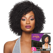 Outre Human Hair Blend Weave Premium Purple Pack Big Beautiful Hair 4CCoily 3Pcs