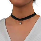 Gorgeous Black Choker 6Pcs Set