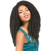 Sensationnel Synthetic Hair Crochet Braided Wig African Collection Bantu Braid