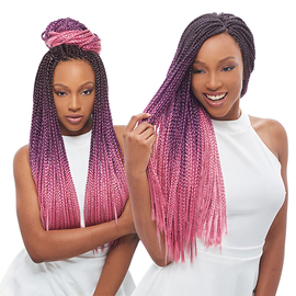 Purple Crochet Box Braids : ... Synthetic Hair Crochet Braids 3S Havana Box Braid 24 - SamsBeauty