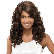 Vivica Fox Synthetic Lace Front Wig Deep Swiss Lace Giselle