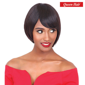 Queen Hair Unprocessed Brazilian Virgin Remy Human Hair Wig Pretty Wig 12A Mona S