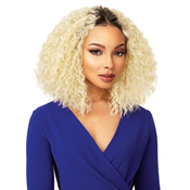 Sensationnel Synthetic Lace Front Wig Empress Edge Natural Center Part Cris