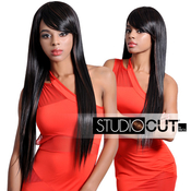 Studio Cut by Pros Synthetic Hair Wig 28 Zen Straight Cut