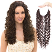 Janet Collection Synthetic Halo Hair Extensions Insta XTension Joy Curl 24