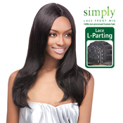 OUTRE Simply NonProcessed Human Hair Lace Front Wig Brazilian Natural Straight