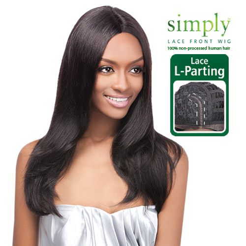 Outre Simply Non Processed Human Hair Lace Front Wig Brazilian