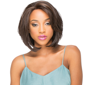 SKY Human Hair Blend Lace Front Wig BlueSky 003