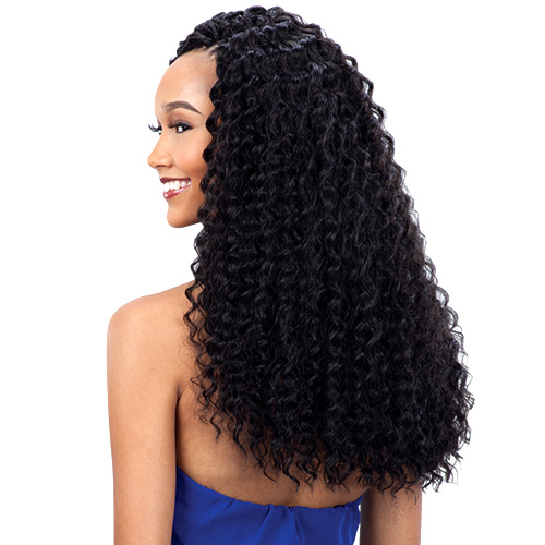 FreeTress Synthetic Hair Braids 3X Pre-loop Crochet Braid Deep Twist ...