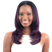 ModelModel Equal Synthetic Hair Wig Oval Part Wig Layered Cut