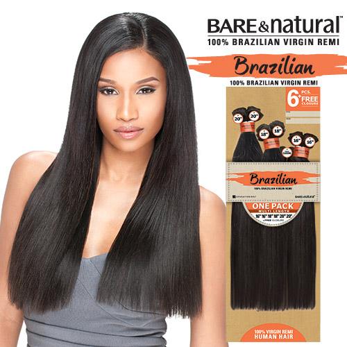 Sensationnel Unprocessed Human Hair Weave Natural Wavy