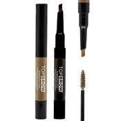 Kiss Top Brow Sculpting Brow Pencil AMP; Mascara