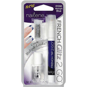 Nailene French Glitz 2 Go Midnight Blue Nail Polish