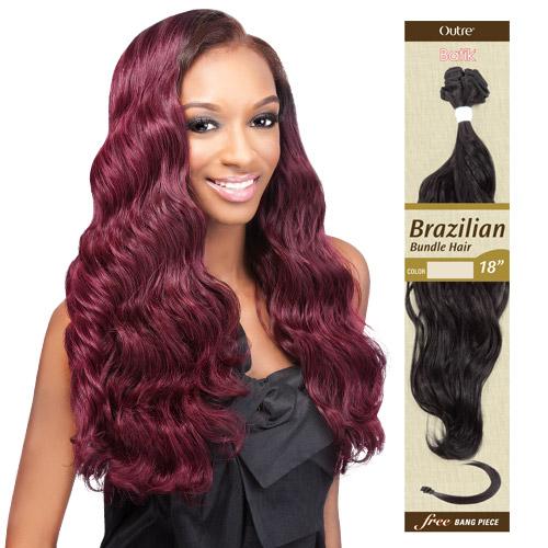 Outre Synthetic Hair Weave Batik Brazilian Bundle