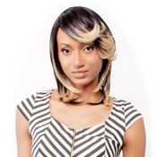 RAMP;B Collection 21Tress Human Hair Blend Half Wig BHOnly