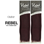 Outre Human Hair Weave Rebel Yaki