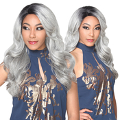 Royal Sis Synthetic Lace Front Wig Invisible C Part IVLace H Ari