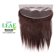 ModelModel Nude Leaf Unprocessed Brazilian Virgin Remy Human Hair Weave 13X4 Lace Frontal Closure Straight