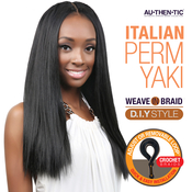 Authentic Synthetic Hair Crochet Braids Pre Looped Italian Perm Yaki