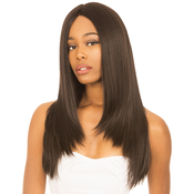 New Born Free Synthetic Lace Front Wig Silk Base 12X4 Ear To Ear Lace Frontal HandTied Wig MLF50