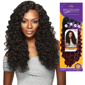 Outre Human Hair Blend Weave Premium Purple Pack Brazilian Boutique Virgin Deep 18 20 22Free Closure