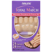 Nailene Total Matching 24 Fingernail AMP; 24 Toenail Kit