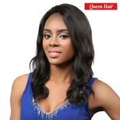 Queen Hair Unprocessed Brazilian Virgin Remy Human Hair Lace Front Wig Body 18 L