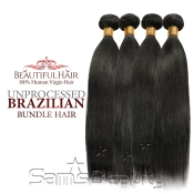 Beautiful Hair 100 Virgin Remy Human Hair Unprocessed Brazilian Bundle Hair Weave Natural Straight 4 Bundles