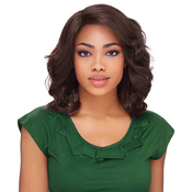 Sensationnel Synthetic Lace Front Wig Empress Edge L Part Crystal
