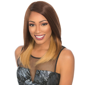 Sensationnel Remy Human Hair Lace Front Wig Select Yaki 18