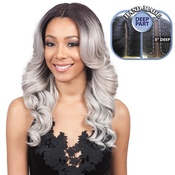Bobbi Boss Synthetic Hair Lace Front Wig MLF213 Swiss Lace 5 Deep Part Rayla