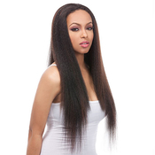 Its a wig Synthetic Hair Half Wig HW Natural Yaki Long