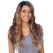 ModelModel Synthetic Lace Front Wig Deep Invisible Diagonal Part Diane