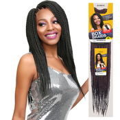 Authentic Synthetic Hair Crochet Braid PreStretched Loop Box Braid 22
