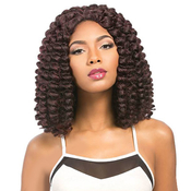Sensationnel Synthetic Lace Front Wig Empress Edge Senegal Collection  Bounce Braid